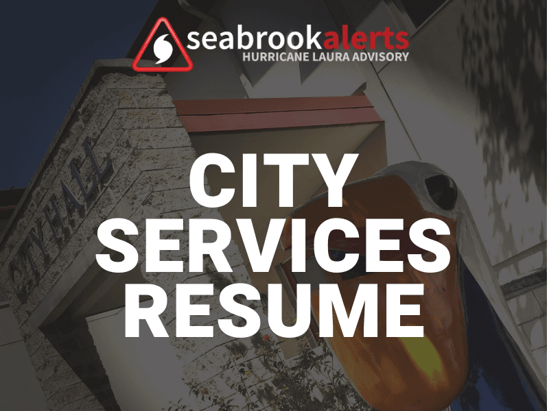 City Services Resume