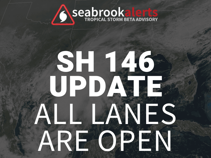 SH146 all lanes open - FB