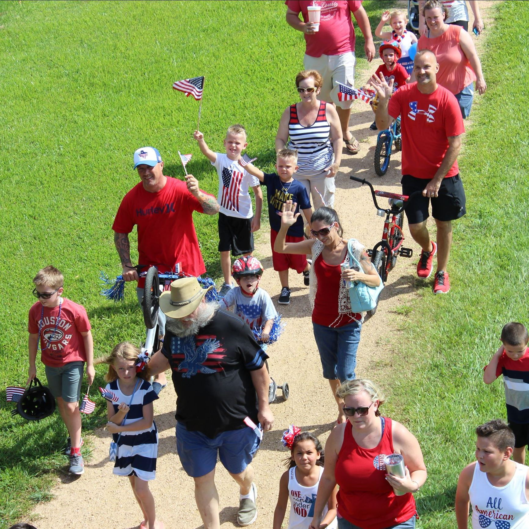 4th of July Kids Parade 2016