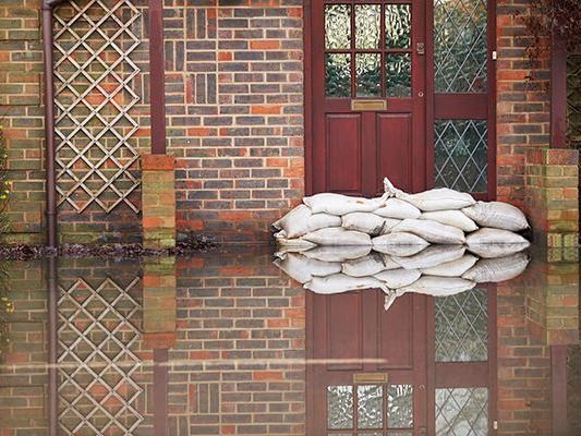 Flooded Home Image