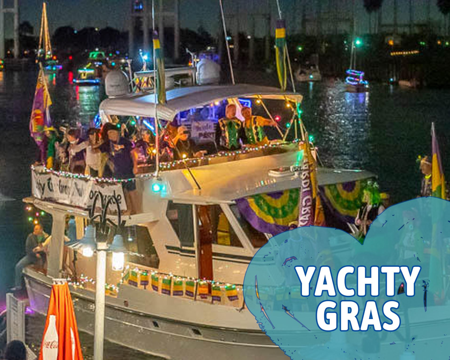 Yachty Gras Opens in new window