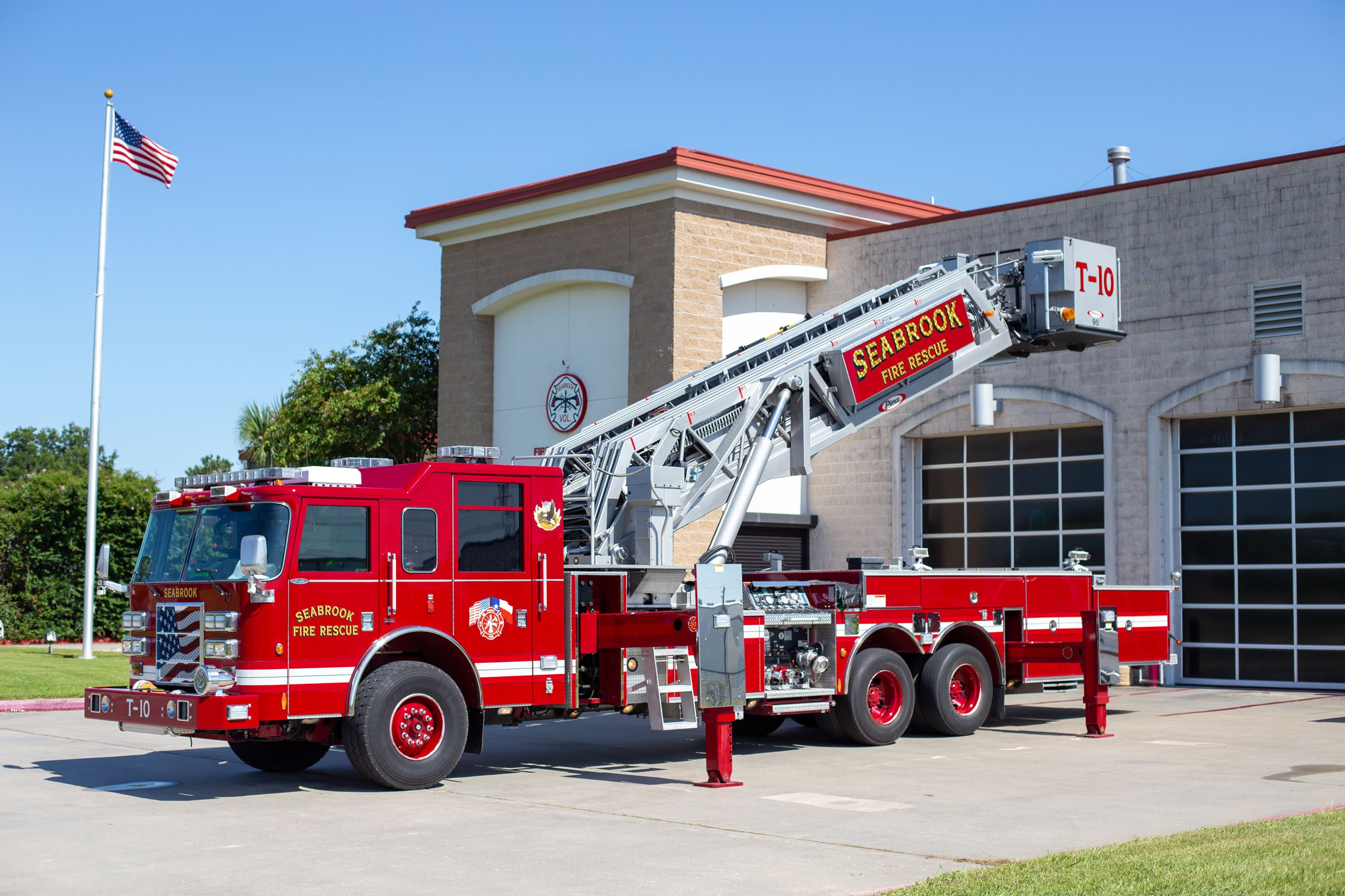 SVFD Tower Truck