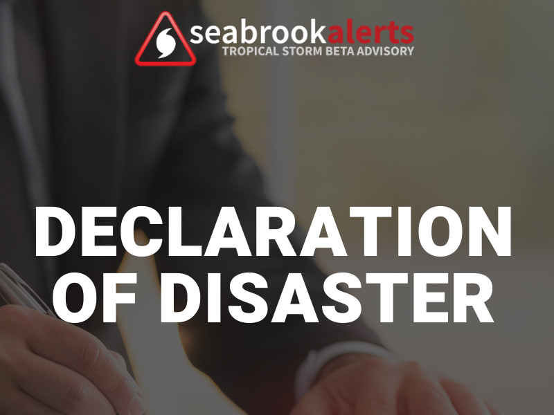 Declaration of Disaster  - FB