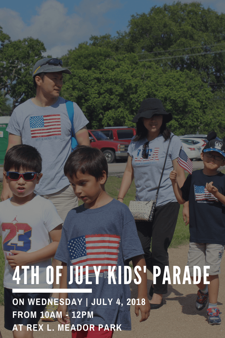 4th of July Kids Parade - Website Graphic