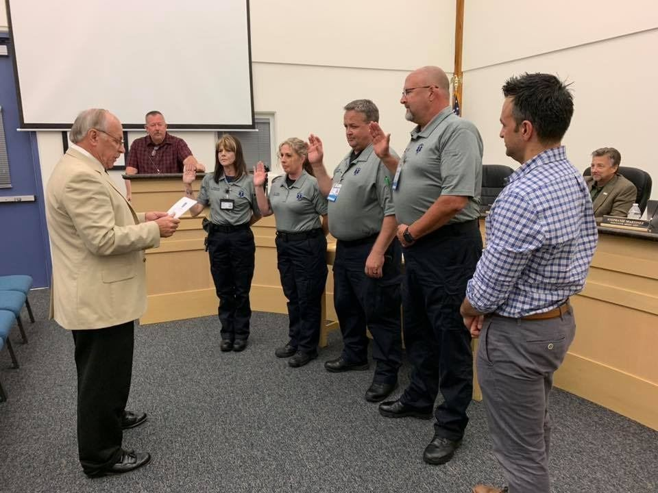 Oct 15 EMS Swearing in