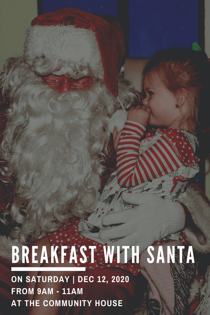Breakfast with Santa 2020- Website Graphic