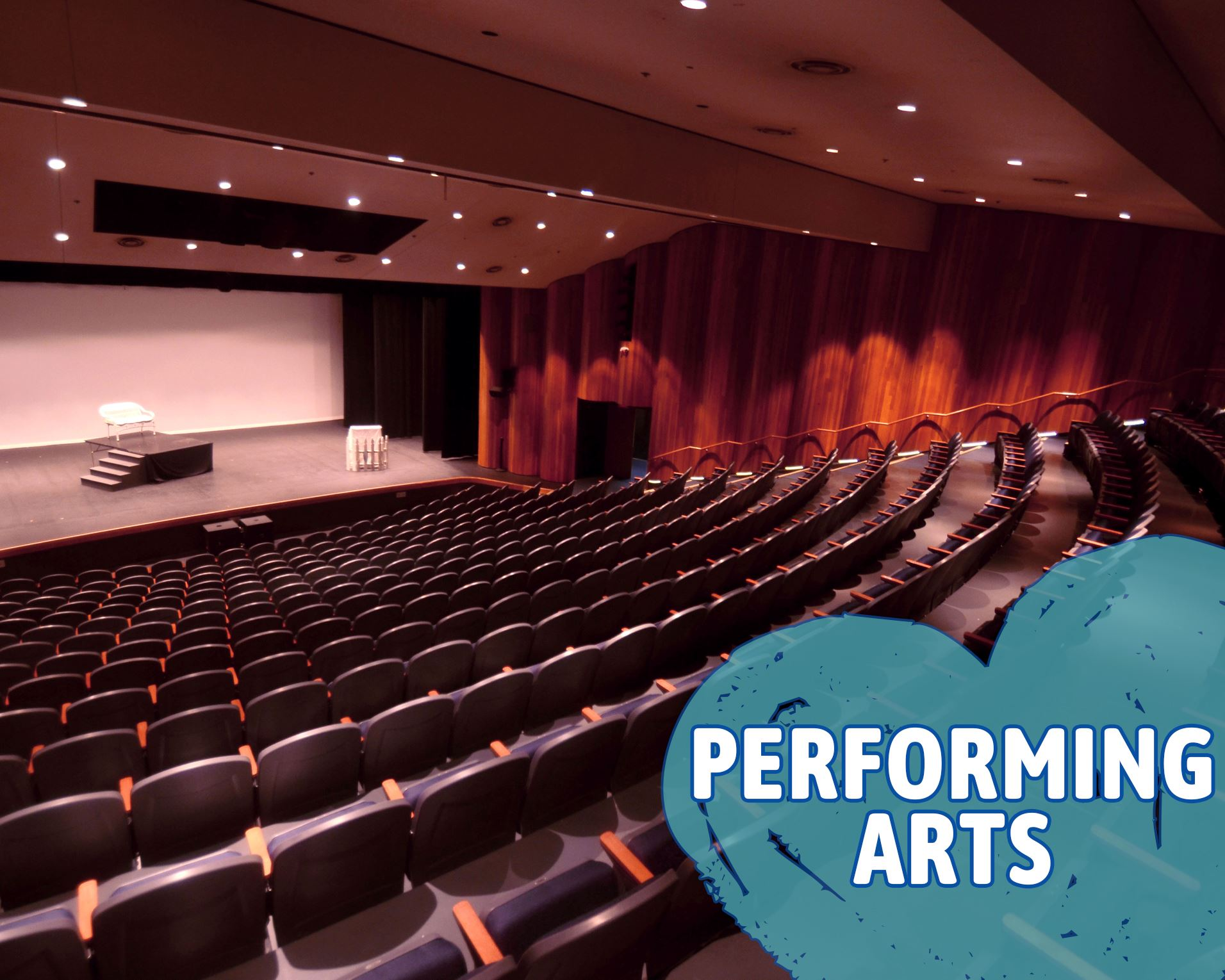 Performing Arts Bayou Theater Opens in new window