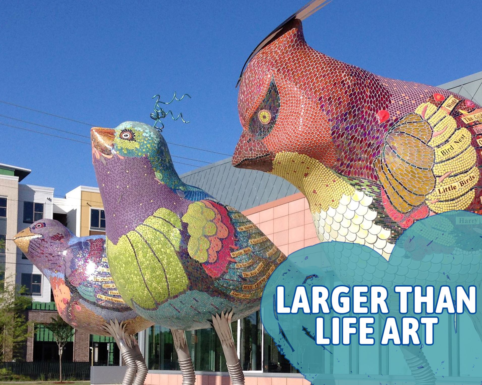 larger than life art Opens in new window